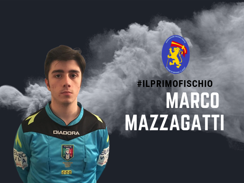 Storie di campo: Il primo fischio di Marco Mazzagatti